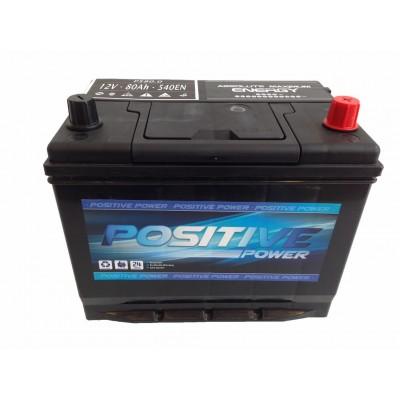 Batería para tractor 80Ah 540EN