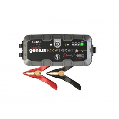 Booster Arrancador de emergencia 12V 400A GB20