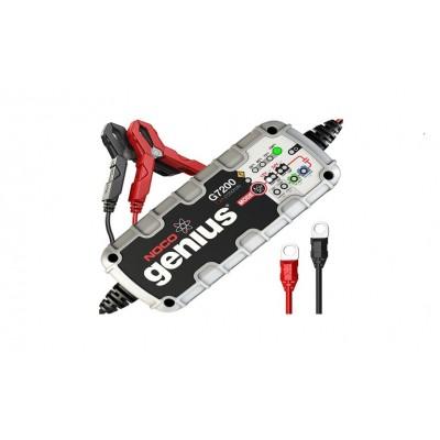 Cargador inteligente para baterías 12v y 24v 7.2Ah