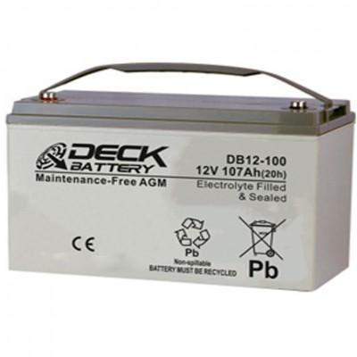 Batería ciclo profundo para fregadora 12V 117Ah