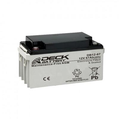 Batería tecnología AGM 80Ah