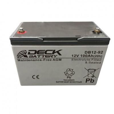 Batería tecnología AGM 100Ah