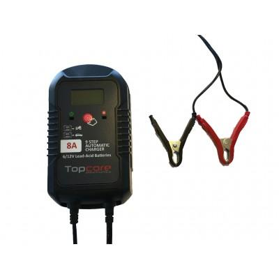 Cargador de batería 6-12V 8A Topcore Automatic Charger