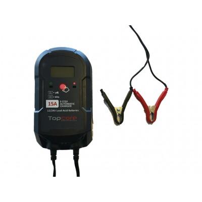 Cargador de batería 12-24V 15A Topcore Automatic Charger